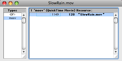 Slow Rain With Resource