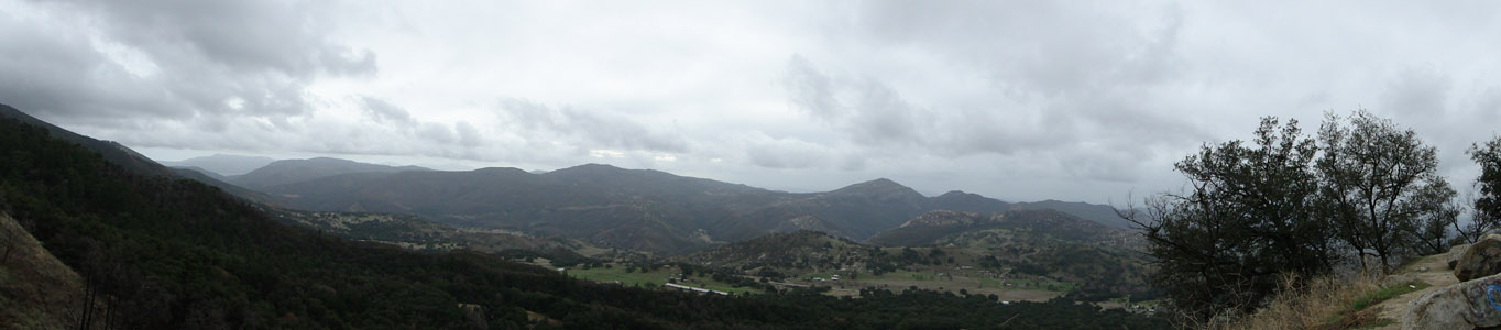 Panorama from Mount Palomar
