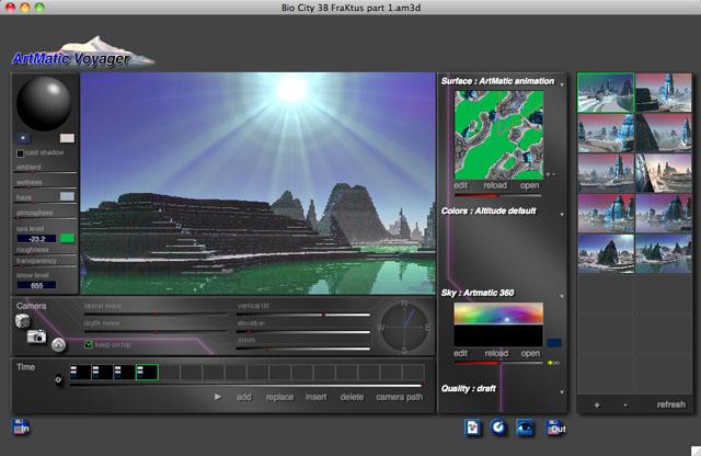 ArtMatic Voyager Bio City