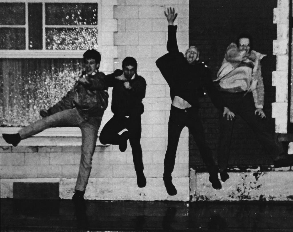 Vortex, from left: J.R., Steve, Vincent, Marco (me)