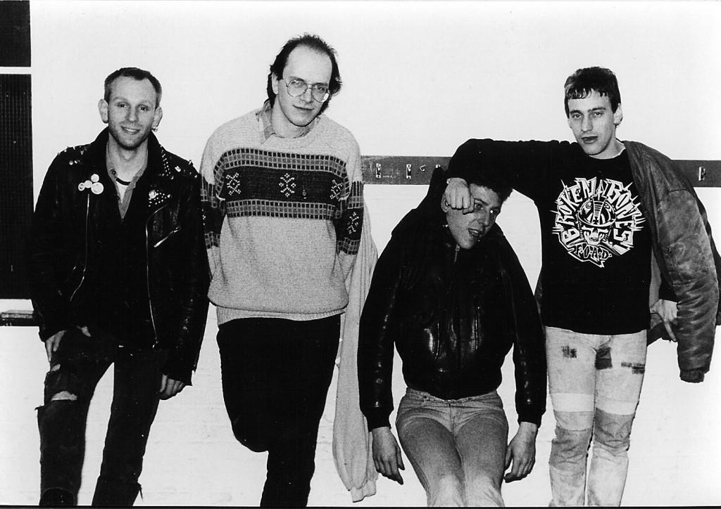 Vortex from left, Vincent, Marco (me), J.R., Steve
